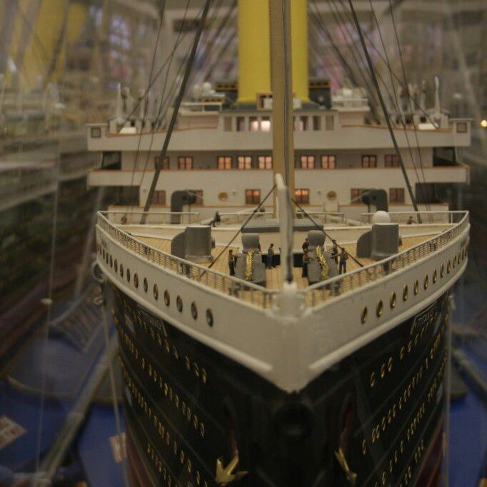 Discovery Station Titanic Exhibit